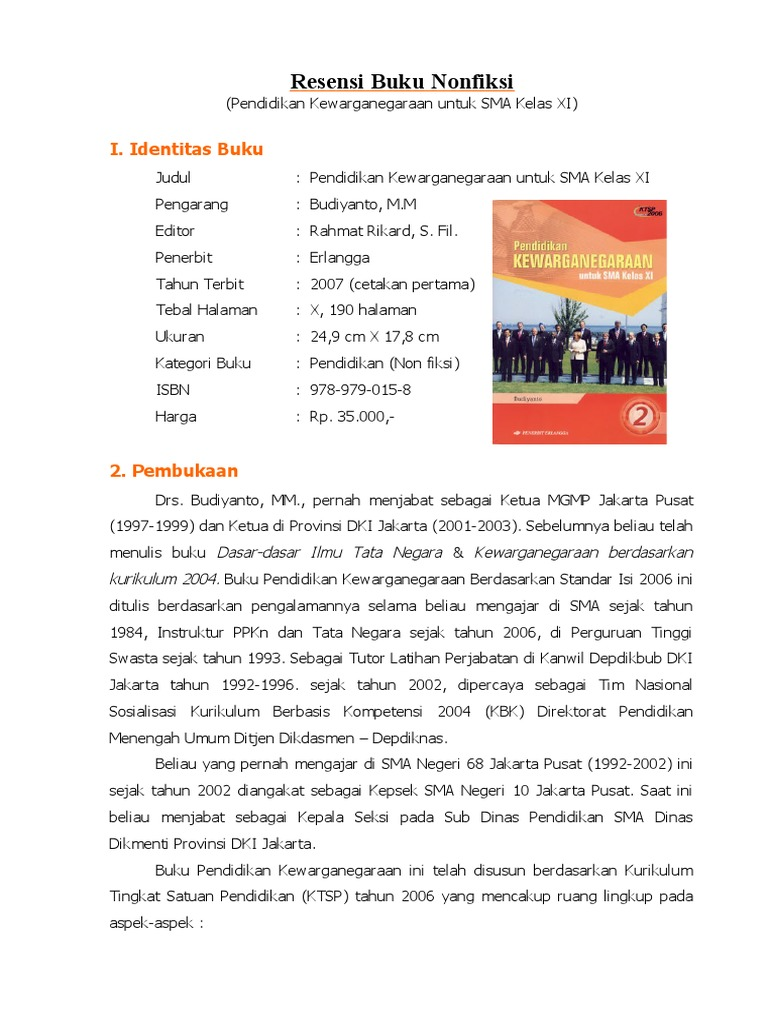 Rangkuman Buku Non Fiksi Download