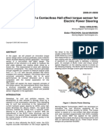 Contactless Hall Effect Torque Sensor for EPAS