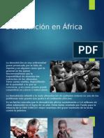 Desnutrición en África Powerpoint