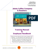 Coffee CAfe Official Training Manual