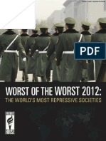 Worst of the Worst 2012 Final Report