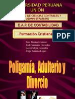 Divorcio, Adulterio y Poligamia