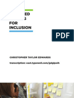 Mediated Publics for Inclusion