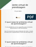 Ambiente Virtual Aprendizagem