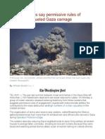 Israeli Veterans Say Permissive Rules of Engagement Fueled Gaza Carnage