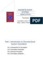 Discrete Event Simulation Book by Jerry Banks