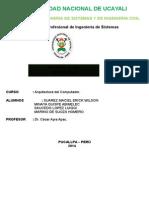 INFORME N°003 DE ARQUITECTURA DEL COMPUTADOR