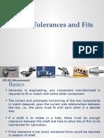 Limits, Tolerances And Fits