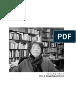 Entrevista a Miriam Halpern Pereira