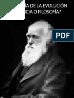 Teoria de La Evolucion Ciencia o Filosofia