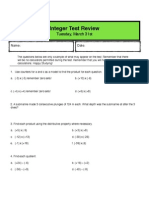 integer test review - pdf