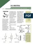 Principios de Funcionamiento Del Tiristor