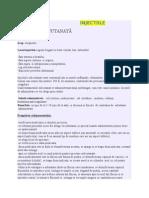 Injectiile Intradermica,Subcutanata,Intramusculara,Intravenoasa,