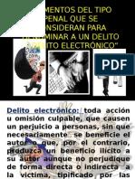Los Delitos Electronicos