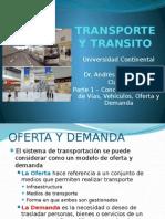 Oferta y demanda de transito IMDA