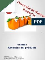 Desarrollo de Nuevos Productos Unidad I