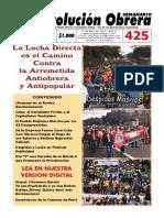 Semanario Revolución No. 425