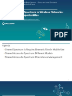 Shared Access to Spectrum in Wireless Networks