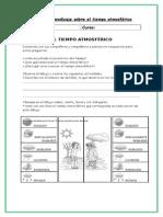 Guía de Aprendizaje Sobre El Tiempo Atmosférico