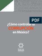 CÓMO CONTROLAR LA CORRUPCIÓN EN MÉXICO?