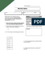 2nd algebra quiz 3 - pdf
