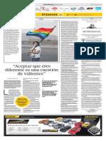 Entrevista a Ana Araujo en Diario El Comercio #UnionCivilYA