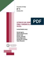 Nosetto  Lecturas de Carl Schmitt