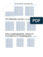 ACI Structural Journal