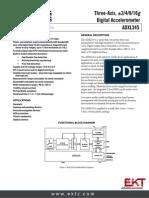 ADXL345BCCZ  Accelerometer
