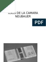 Usos de La Camara Neubauer i Practica