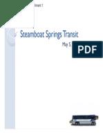 Bus presentation
