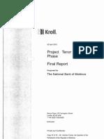 Raportul Kroll