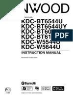 Kenwood Instructions KDC-W5544U