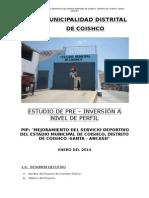 Perfil Estadio Coishco, Santa, Ancash