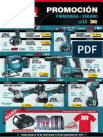 Makita Folleto Primavera Verano 15