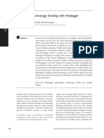Zitzelsberger 2004 - Concerning Technology- Thinking with Heidegger.pdf