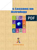 Basic Lessons on Indian Astrology