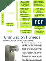 Equipos de Granulación Húmeda y Seca