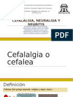 Cefalalgia, Neurlalgia y Neuritis Final