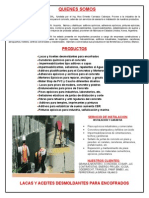 Catalogo de Productos p l Construccion 2009