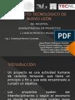 Fases de Adinistración de Proyecto.