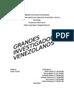 grandes escritores de venezuela