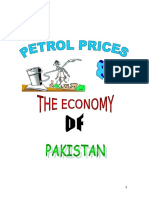 Effects of Patrol Pries on the Economy of Pakistan