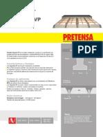 Ficha Tecnica Viguetas Pretensadas - PRETENSA.pdf