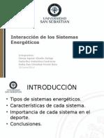 Interacción Sistemas Energéticos