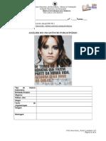 Ficha8. Análise de Um Anúncio Publicitário