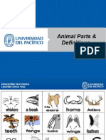 Unit 8 Animal Parts and Definitions2