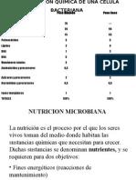 Nutricion Microbiana