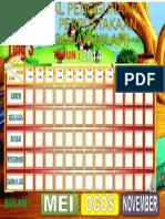 Jadual Penggunaan Program Nilam (1)