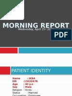 Morning Report, GEA